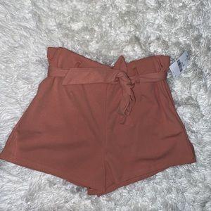 Light pink dressy shorts